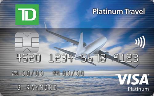TD Platinum Travel Visa* Card
