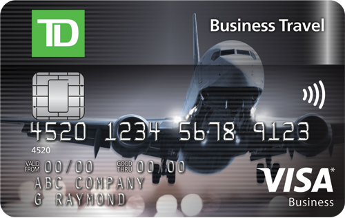 TD Business Travel Visa* Card